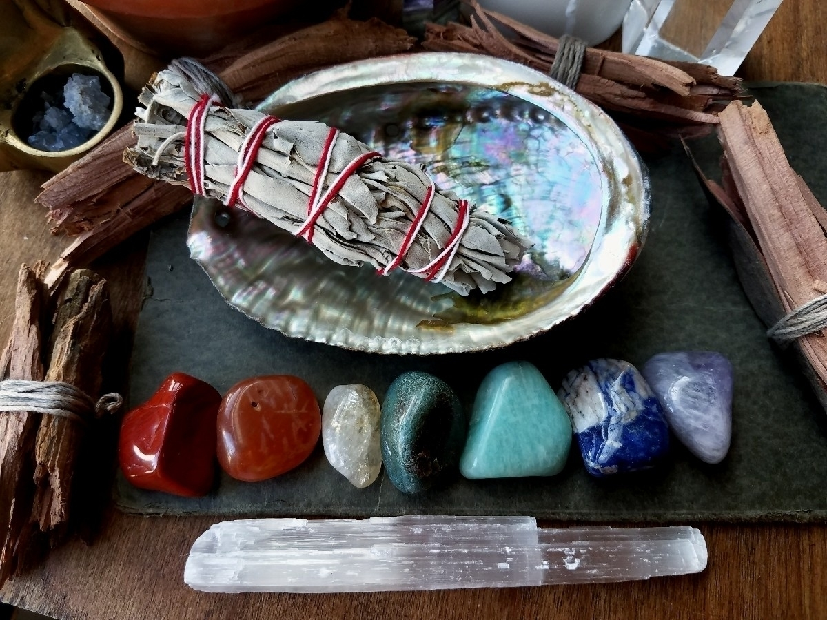 Chakra stone Sage kits Perfect  - sacreddivination | ello