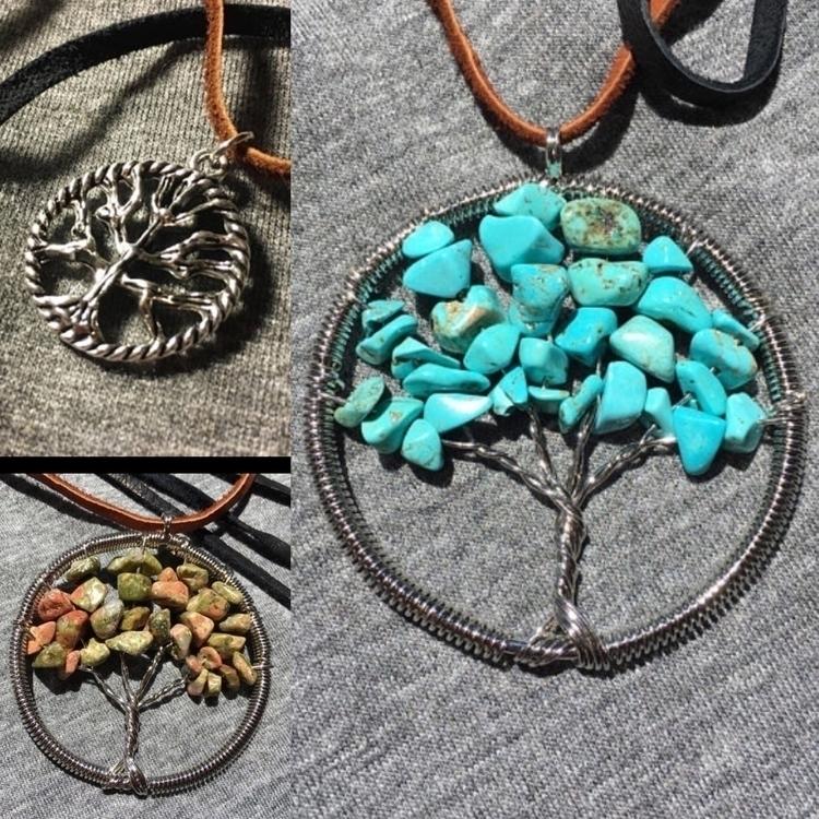 Gorgeous Tree Life pendant neck - magikaleeinclined   ello