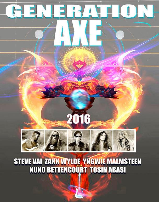 Generation Axe - Steve Vai Tour - alanbrooksart | ello