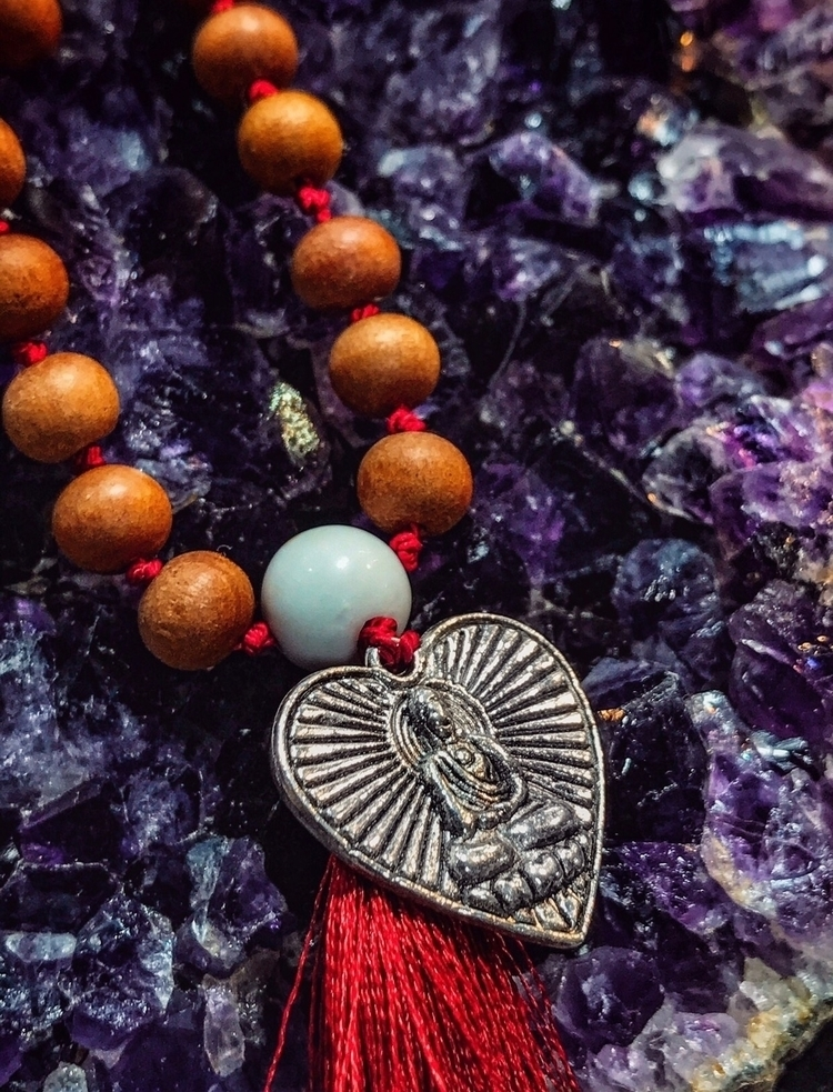 Wise Heart Mala Emanating lovin - findyourshakti | ello