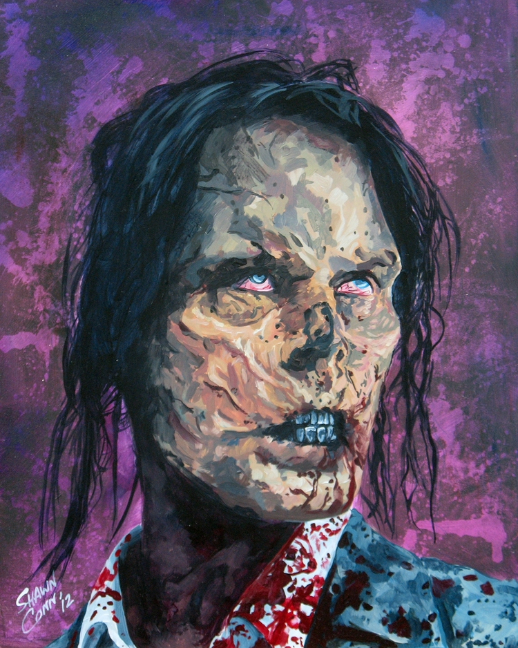 thewalkingdead, horrorartist - shawnconn-8645 | ello