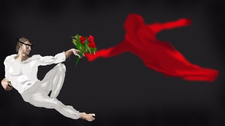 Photoshop painting assignment.  - abracadabi | ello