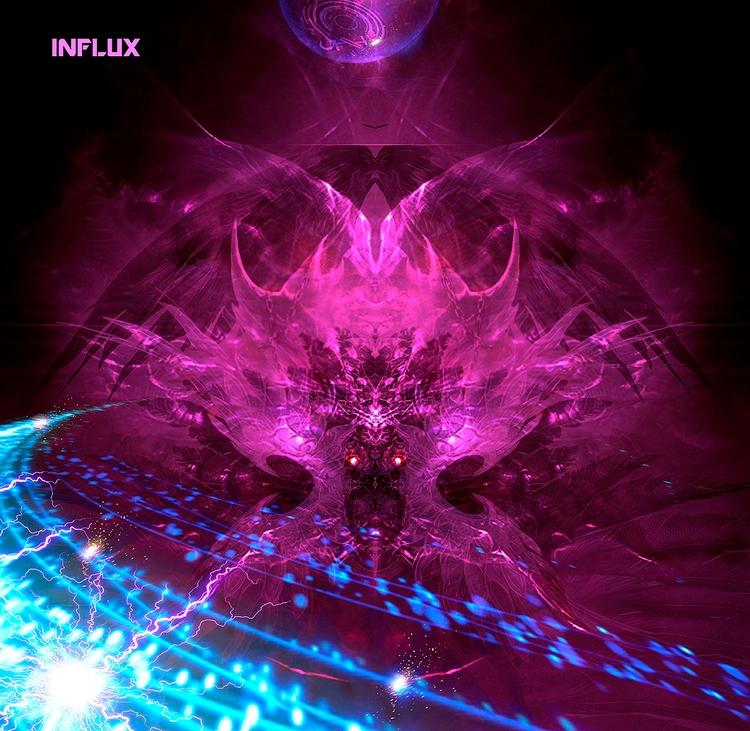 INFLUX - Communication retrofut - alanbrooksart | ello