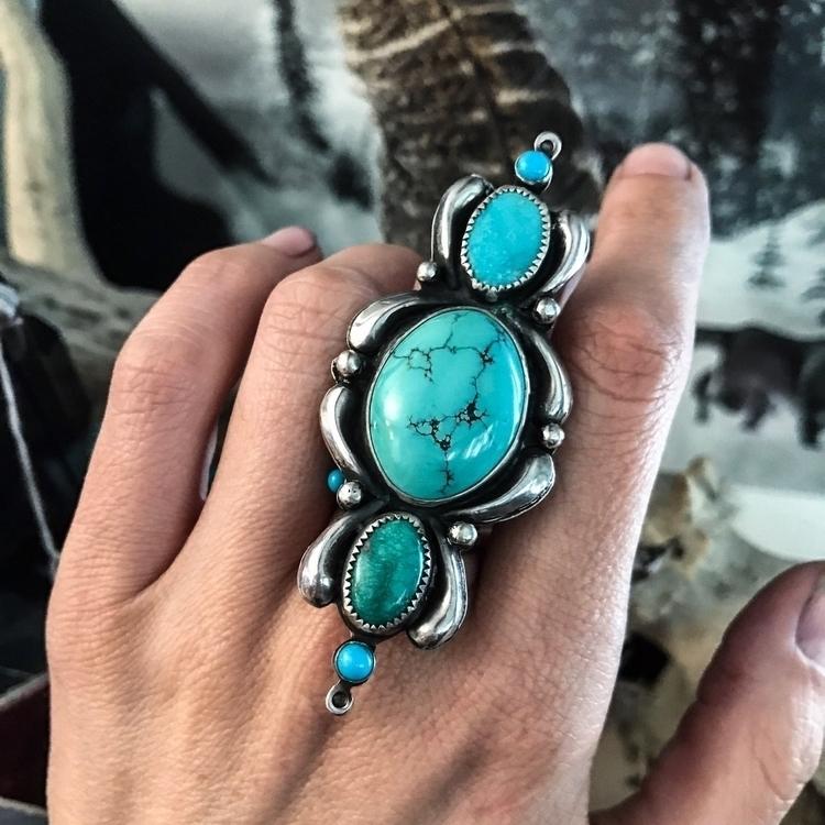 TURQUOISE GODDESS RING Size 8!  - chicoryandsage | ello