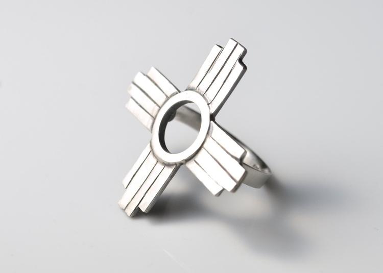 Burqueño Zia Ring - eeee bad - zia - mineralrare | ello