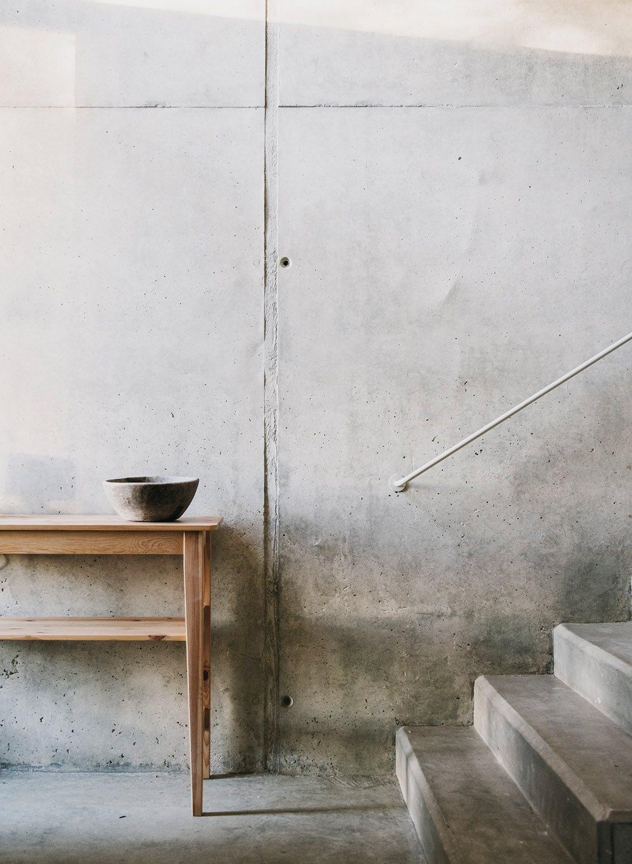 Concrete space. Borja Lluc hous - upinteriors | ello