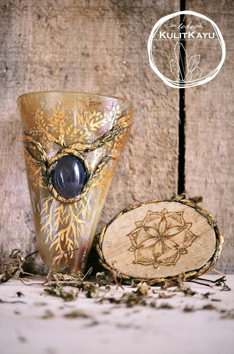 Magical Drinking Horn . wine fe - tikasavitri | ello