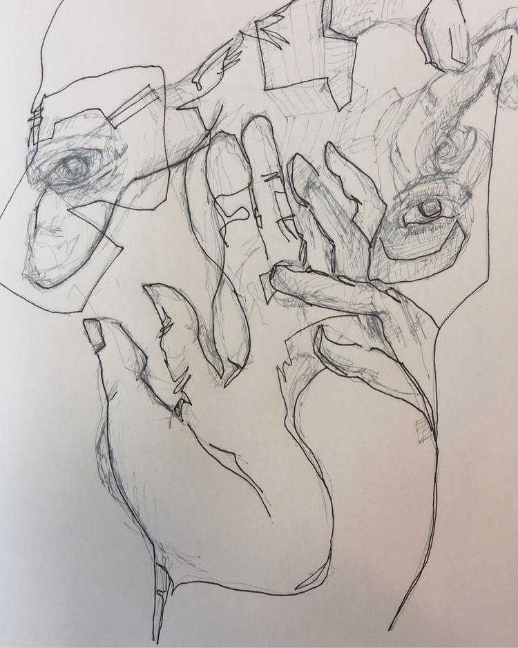 double - kevan_joseph, artwork, doodle - kevan_joseph | ello