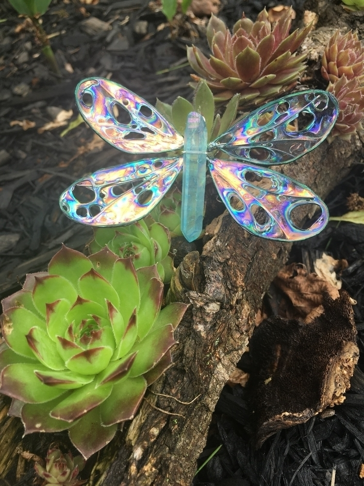 dragonfly wings Deep Lagoon Aqu - faerieblessings | ello