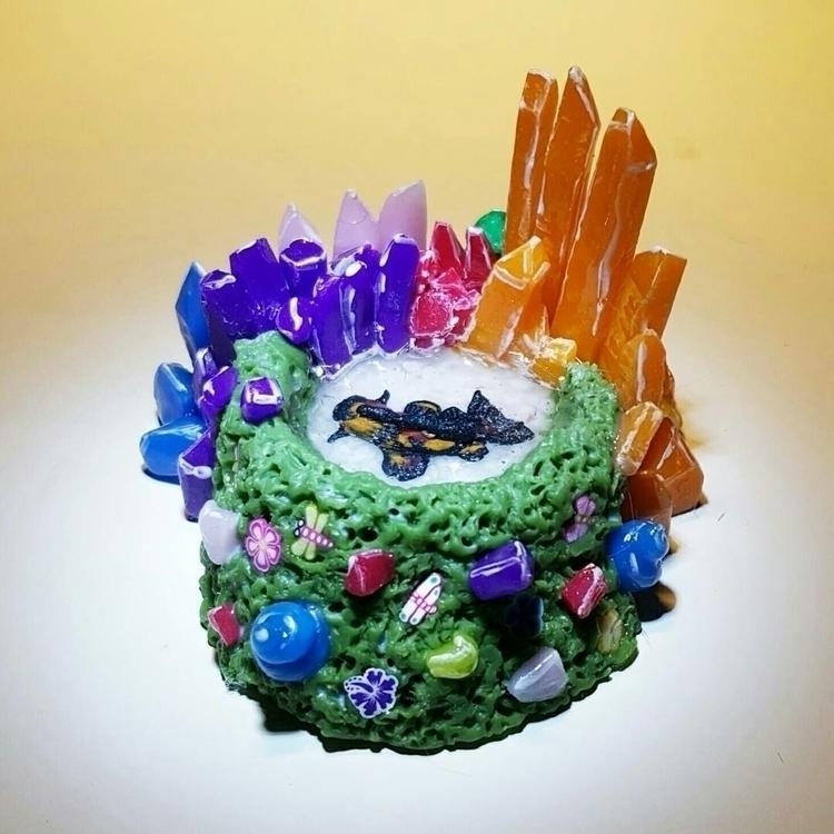 Crystal mini koi pond - kikicrazycatlady | ello
