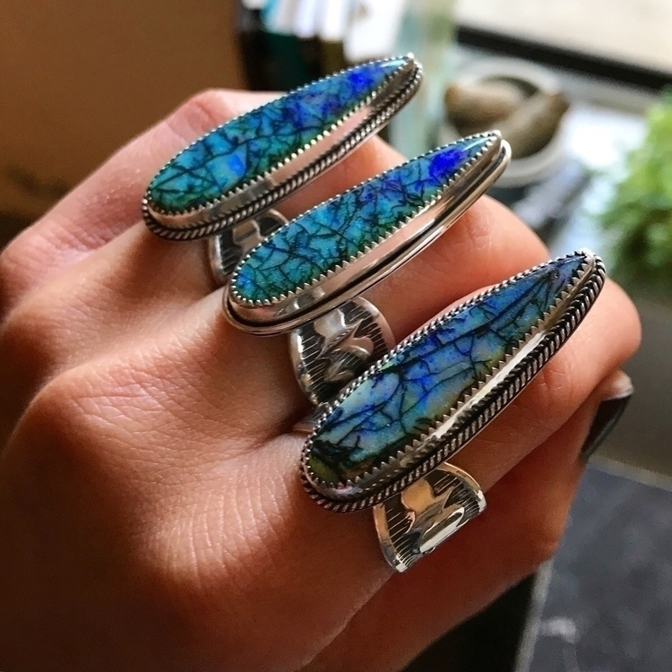 Testing waters :sweat_drops - handmadejewelry - blackfawnjewelry | ello