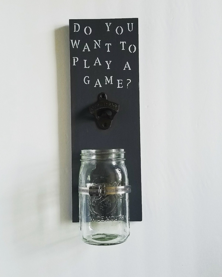 Newly listed bottle opener! pla - thisuniquehome | ello