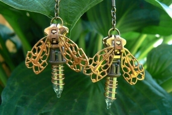 Handmade Steampunk Firefly Zipp - peteandveronicas | ello