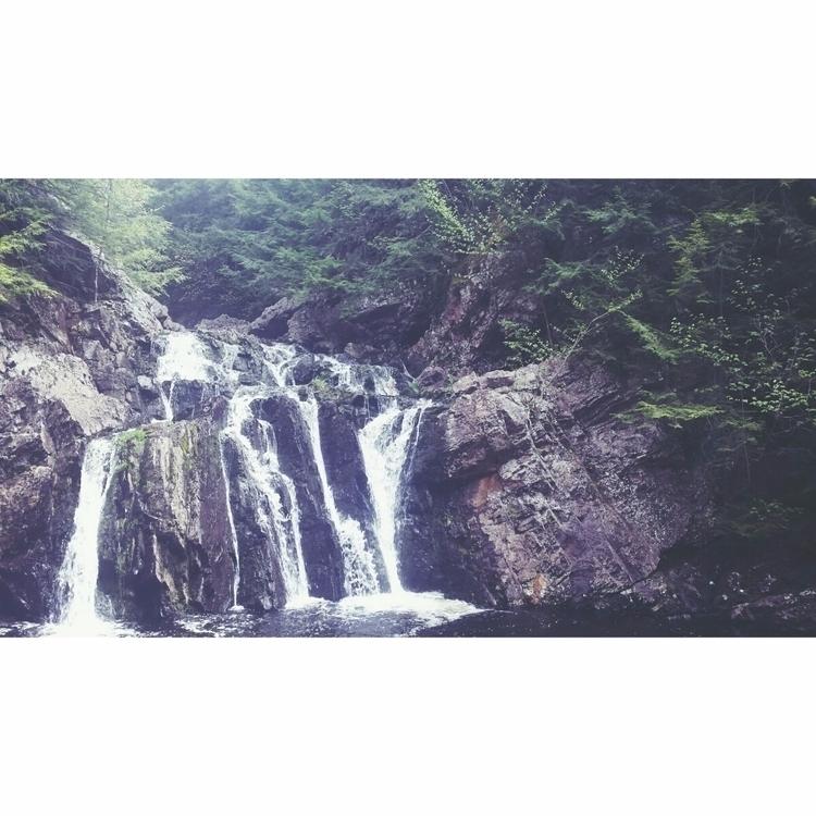 Joseph Howe Falls:evergreen_tre - fallenkittie | ello