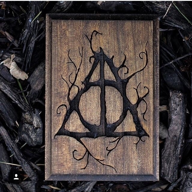 Deathly Hallows Plaque Gimli Li - moonandroot | ello