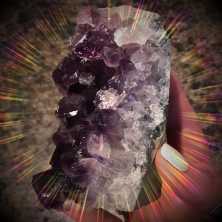 :purple_heart:Amethyst, violet  - crystalmoon | ello