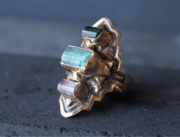 beautiful BYZANTINE ring custom - alloydstudio | ello
