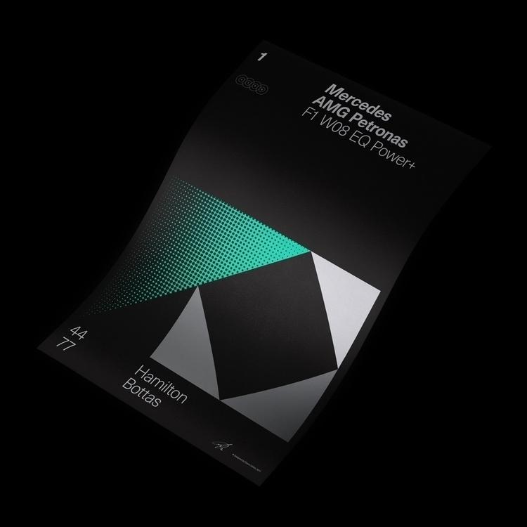 Formula Poster Series 2017 — 1 - duanedalton | ello