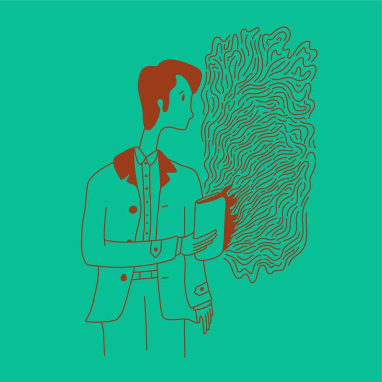 Book Secrets - illustration, illustrator - heybop | ello