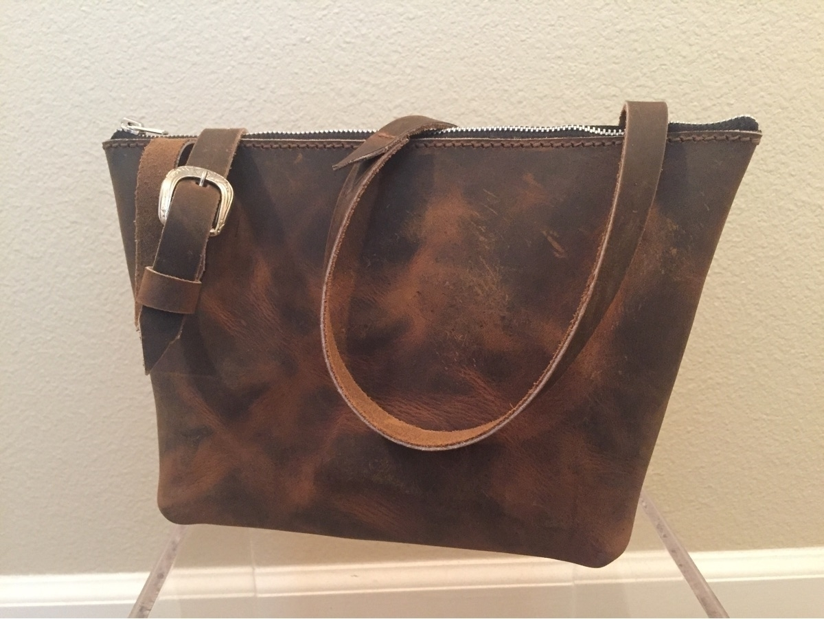 cross body purse Crazy Horse Br - twinflameleatherco   ello