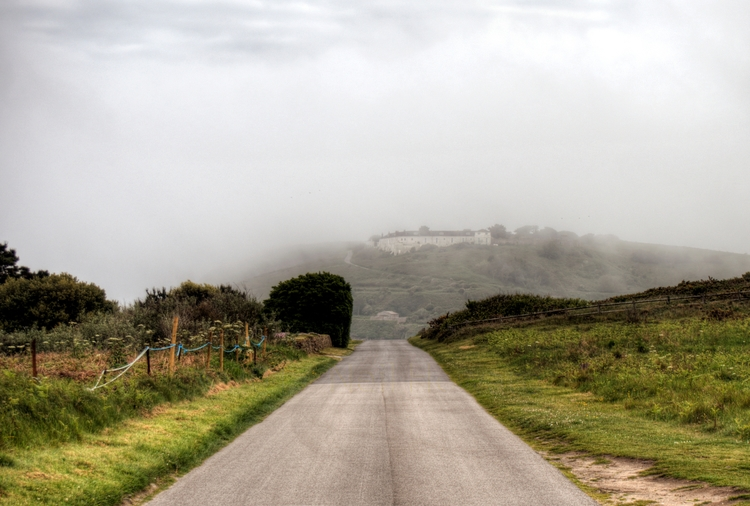 Essex Castle fog Alderney - hil - neilhoward | ello