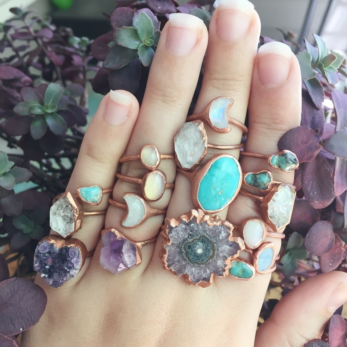running flash sale rings Instag - stoneandspirit | ello
