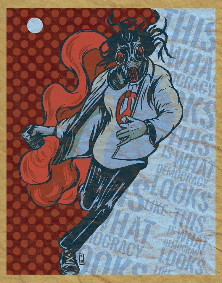 Democracy - illustration - thomcat23 | ello