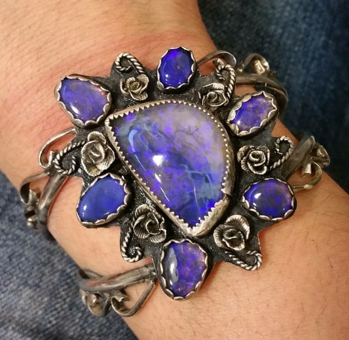 Black opal favorite stone. gorg - newerajewels | ello