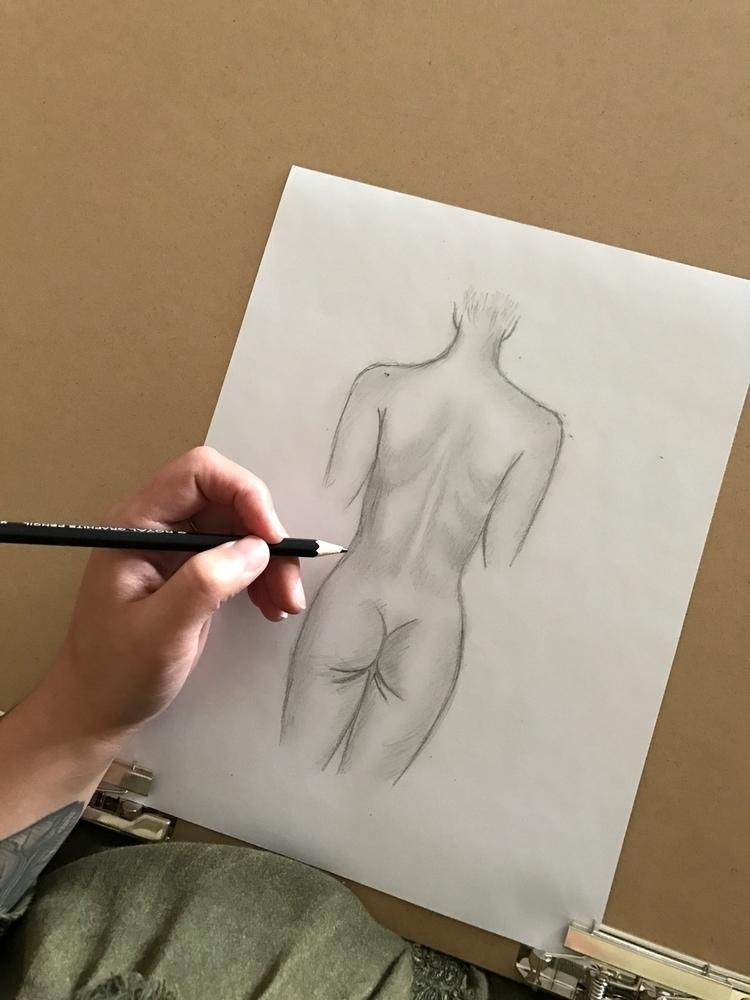 Booty. ~ Learning - human, body - wildflowerramblings | ello