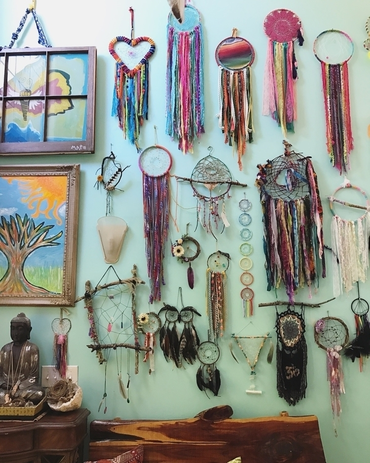 dreamcatcherWall, art, handmade - wingostarrjewelry | ello