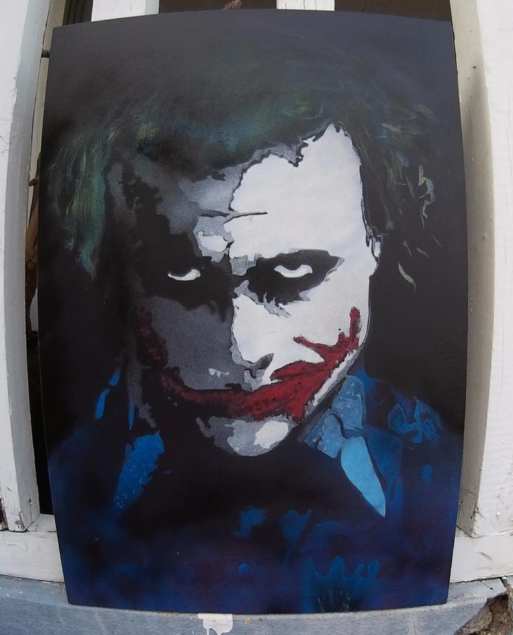 Heath Joker 24 36 Canvas CS Sta - csstanley | ello