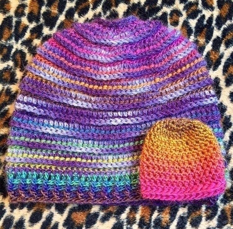 Reversable adult hat preemie ha - medusas_handmade | ello