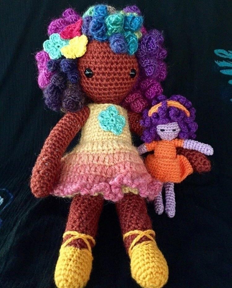 girl doll :heart:️ woollen toy - medusas_handmade | ello