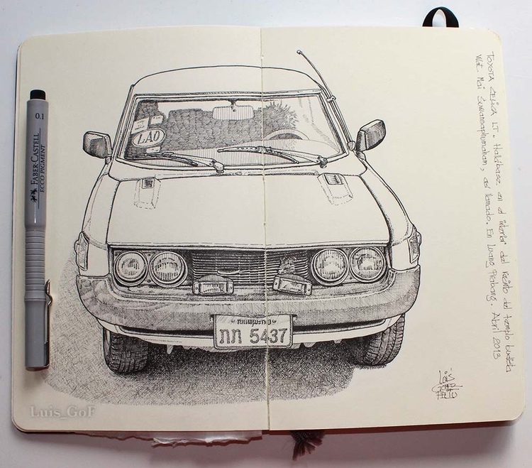 Toyota Célica LT. 1974 model. S - luisgof | ello