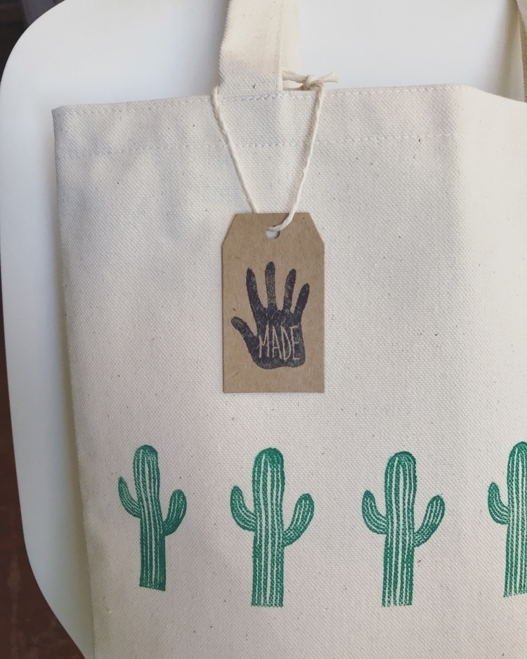 Saguaro Market Bag shop! Www.jo - joshuatreeprintpress | ello