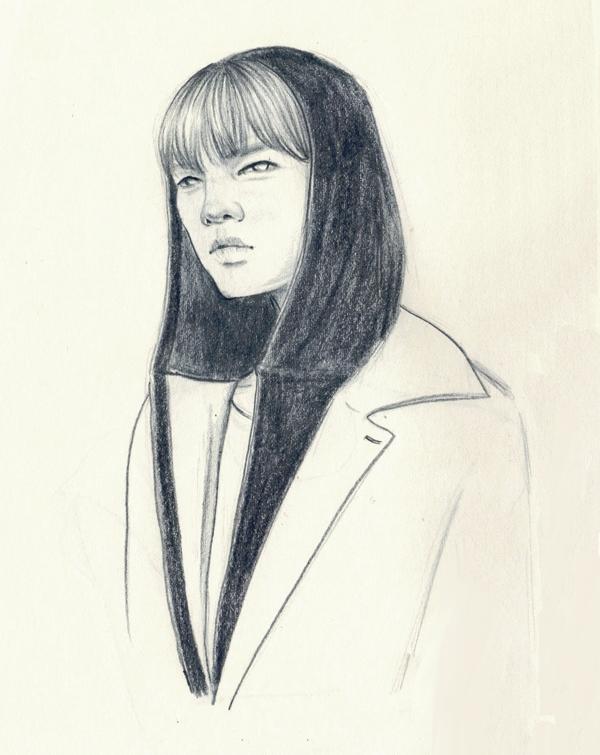 Indigo Gloom - doodle, drawing, sketch - j0eyg1rl | ello