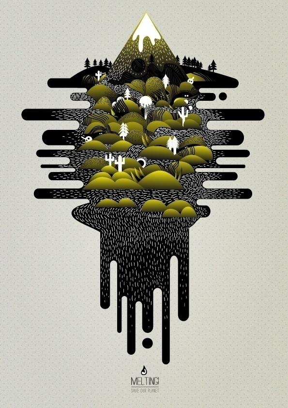 Melting - digitalillustration, johniSeifert - johniseifert | ello