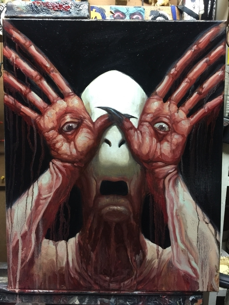 commission progress - paleman, darkart - chetzar | ello