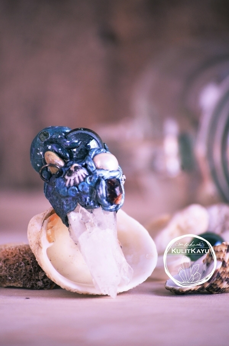 Sea beauty pendant ready find h - tikasavitri | ello