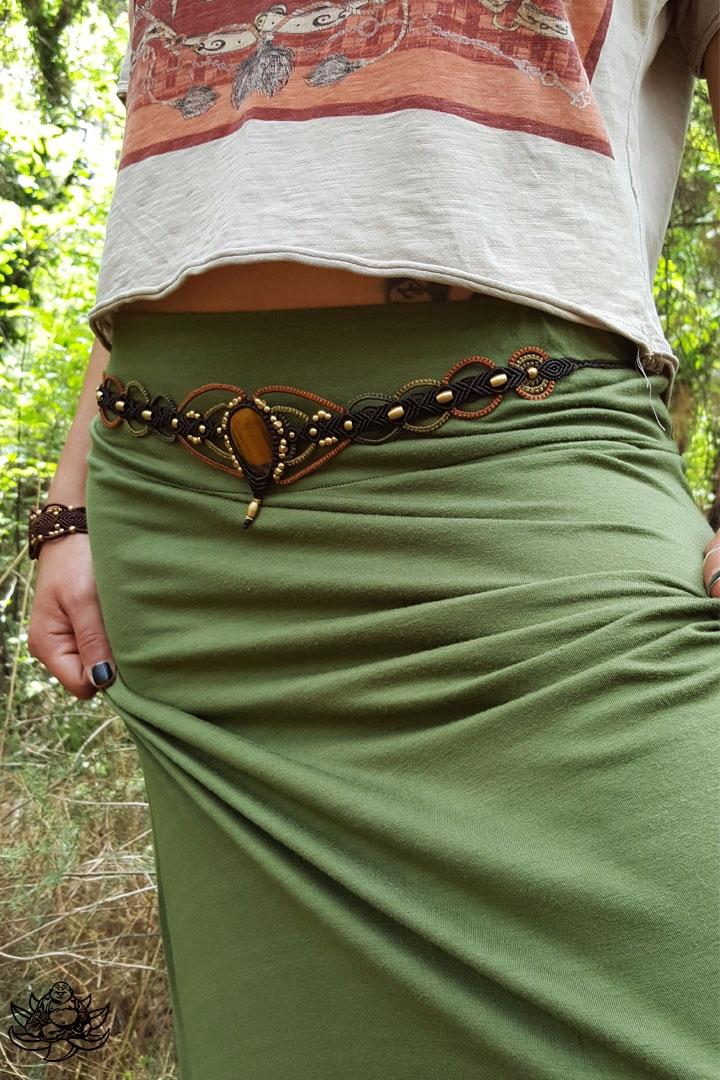 Unique macrame belt handmade da - laughingbuddha_macrameart   ello