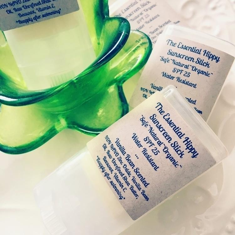 Handmade Organic Sunscreen Stic - theessentialhippy | ello