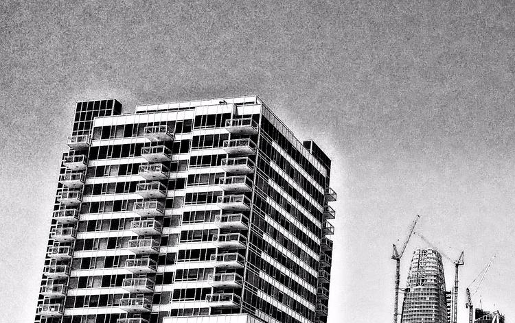 city - skyline, photography, monochrome - voiceofsf   ello