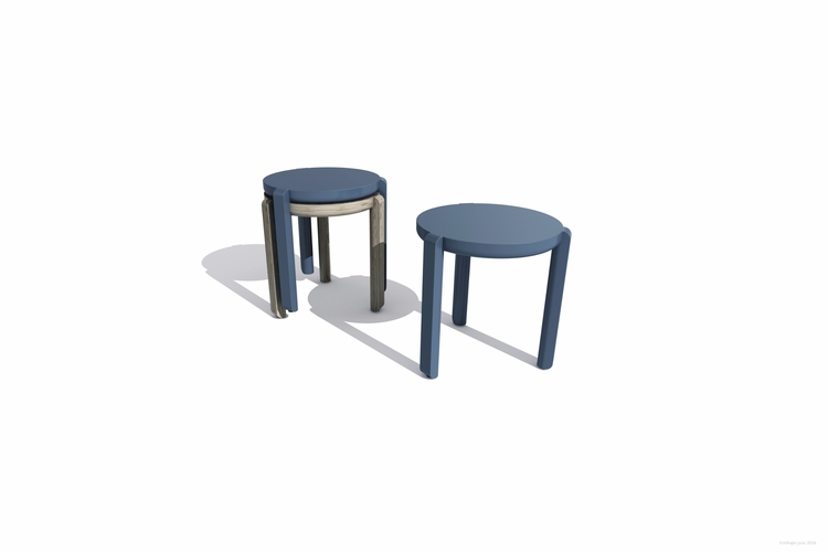 stole - minimal, furniture, stool - mhjl | ello