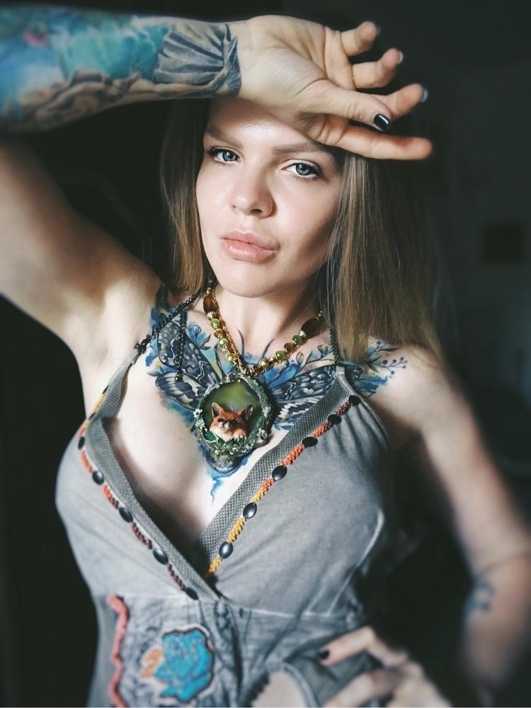 tattoo, tattoed, tattooedlady - ellenrococo | ello