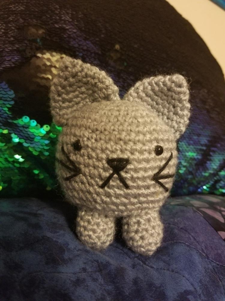 finished kitty today - eliyascreations | ello