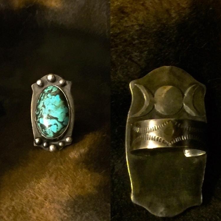 Sterling silver, gun metal pati - stygianmetallurgy | ello