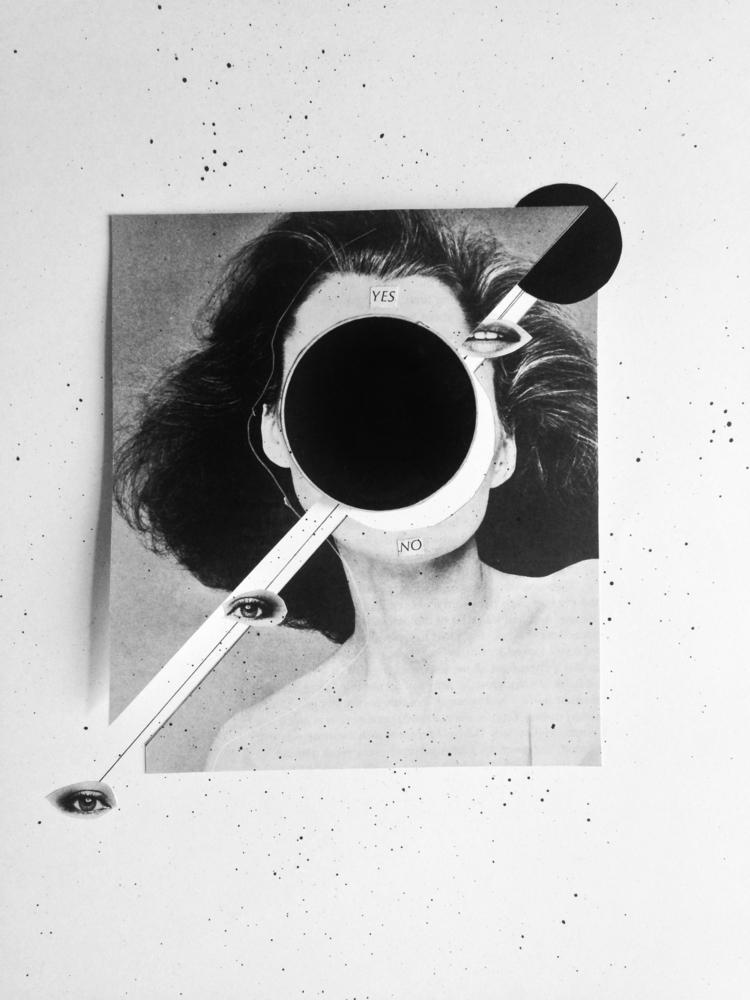 papercollage, collage - marianagv | ello