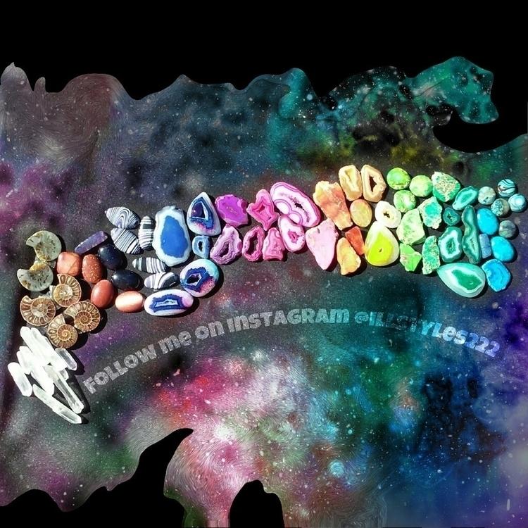 followme, love, crystals, rainbows - illstyles222 | ello