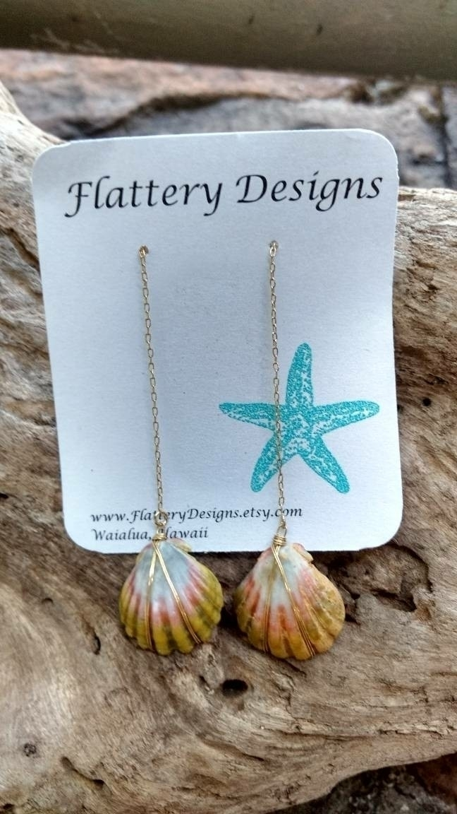 Hawaiian Sunrise Shell Threader - flatterydesigns | ello