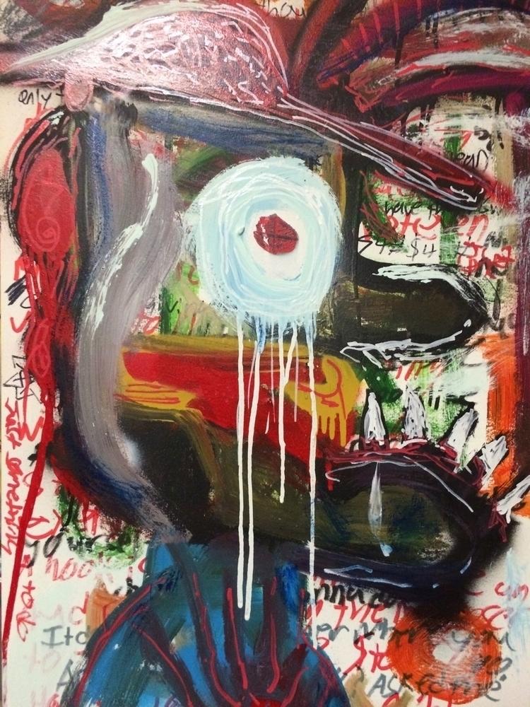 reflection - portrait#wasteland - brought2uby | ello